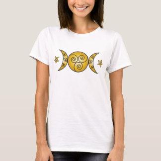 Triple Swirl Goddess Symbol T-Shirt
