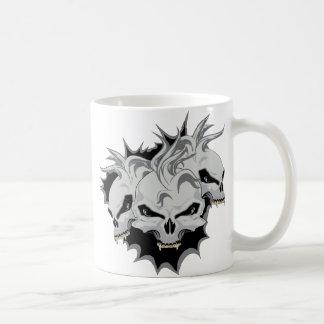 Triple Terror Skulls Mug