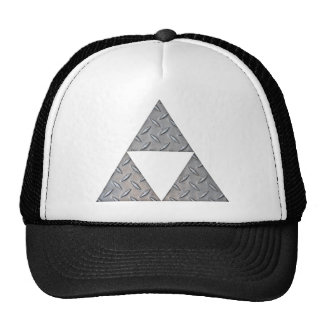 Triple Triangles Mesh Hat