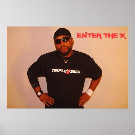 Triple X  2000 004, ENTER THE X Poster