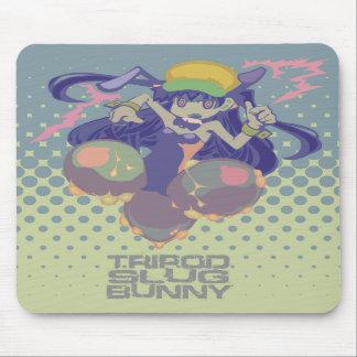 """""""TRIPOD SLUG BUNNY """" mousepad"""