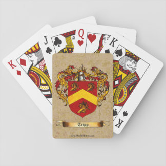 Tripp Shield of Arms Playing Cards