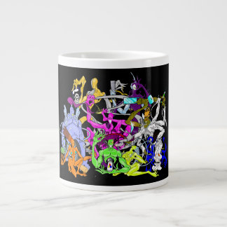 Tripped Out Characters from the Twisted Realm Jumbo Mug
