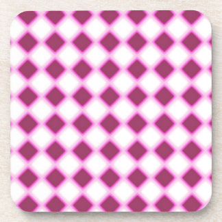 Tripped Out Checkers Beverage Coasters