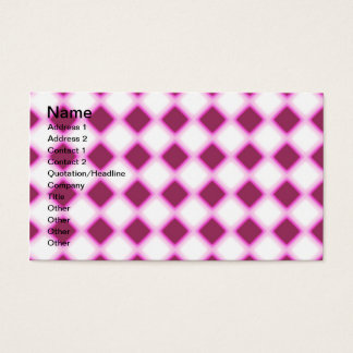 Tripped Out Checkers Business Card
