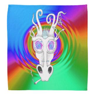 tripping festival dragon bandana