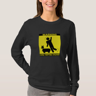 Tripping Hazard - Corgi Ladies T-Shirt