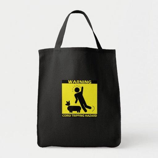 Tripping Hazard - Corgi Tote Bag