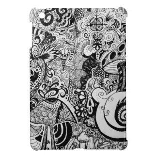 Trippy Art Design Cover For The iPad Mini