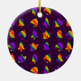 Trippy Bells Christmas Ornament