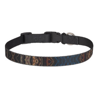Trippy Blue Eye Abstract Pet Collar