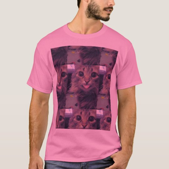 trippy cat T-Shirt