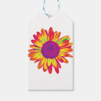 trippy daisy gift tags