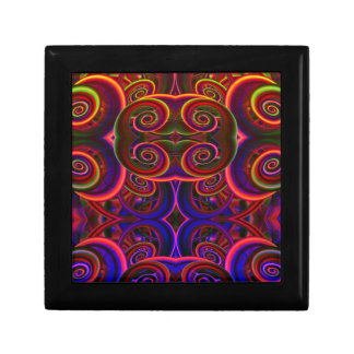 Trippy Florescent Abstract Gift Boxes