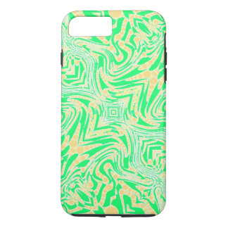 Trippy Florescent Abstract iPhone 7 Plus Case