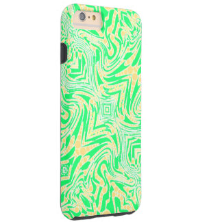 Trippy Florescent Abstract Tough iPhone 6 Plus Case