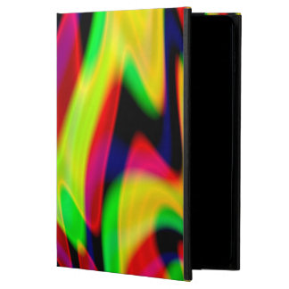 Trippy Florescent Abstract Waves Powis iPad Air 2 Case
