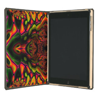 Trippy Florescent Glossy Fractal ipad Air DODOcase Case For iPad Air
