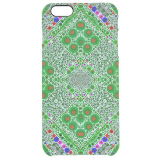 Trippy Florescent Green Abstract iPhone 6 Plus Case