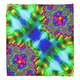 Trippy Fractal Abstract Bandana