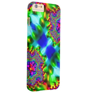 Trippy Fractal Abstract Barely There iPhone 6 Plus Case