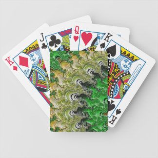 Trippy Fractal Art Bicycle Playing Cards