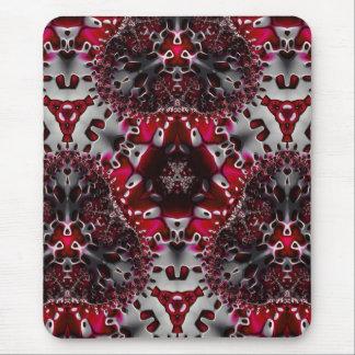 Trippy Fractal Art coaster Mouse Mat