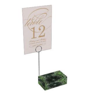 Trippy Fractal Art Table Card Holders