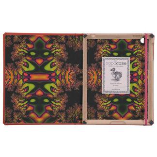 Trippy Fractal iPad Cases