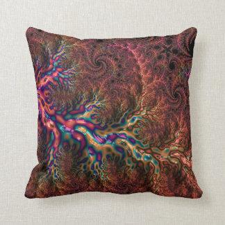 Trippy Fractal Cushion
