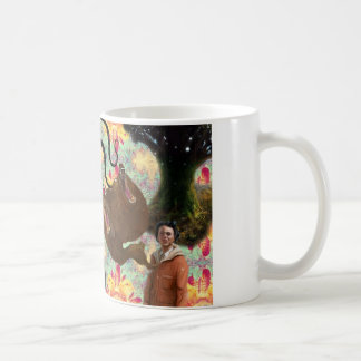Trippy Frankenstein Art Coffee Mug
