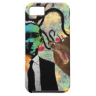 Trippy Frankenstein Art iPhone 5 Case