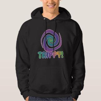 trippy! Groovy 70s psychadellic swirl Hoodie