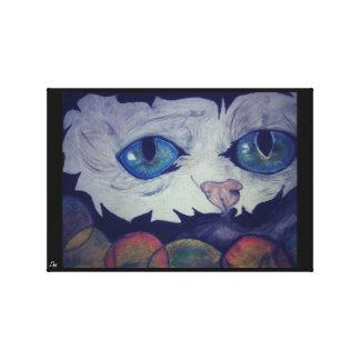 'Trippy Kitty' Canvas