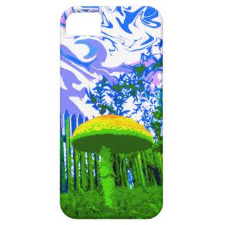 Trippy Mushroom iPhone 5 Case (Bright)