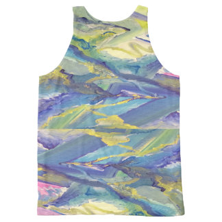 Trippy /Psychedelic/ Art Print All-Over Print Tank All-Over Print Tank Top