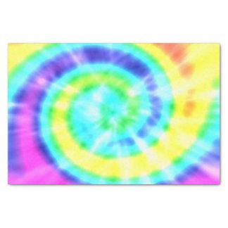 Trippy Rainbow Tie-Dye Tissue Paper