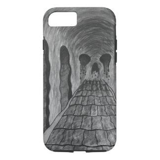 Trippy skull iPhone 7 case