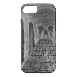 Trippy skull iPhone 8/7 case