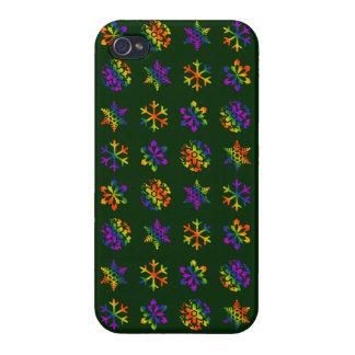 Trippy Snowflakes iPhone 4/4S Case