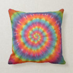Trippy Swirl Tie Dye American MoJo Pillow Cushions