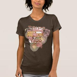 Trips Summer Festival Retro Hippy Van T-shirts
