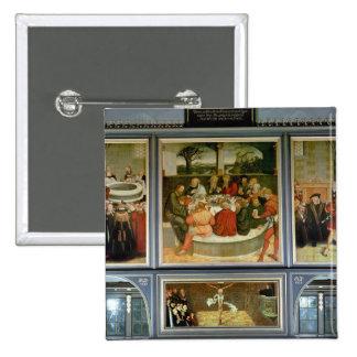 Triptych 15 Cm Square Badge