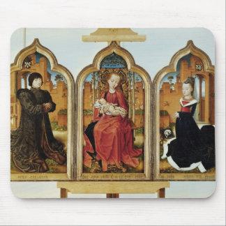 Triptych of Jean de Witte, 1473 Mouse Mat