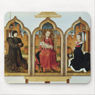 Triptych of Jean de Witte, 1473 Mouse Pad