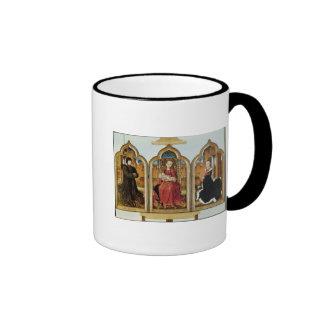 Triptych of Jean de Witte, 1473 Ringer Mug
