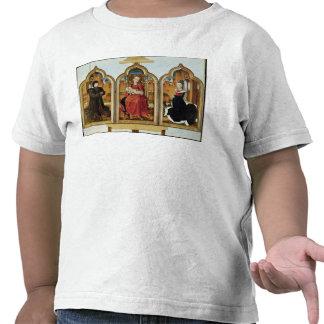 Triptych of Jean de Witte 1473 T Shirts
