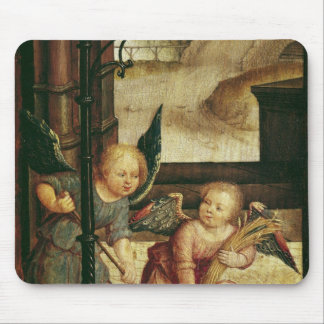 Triptych of the Adoration of the Child Mouse Mat