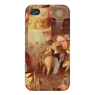 Triptych of the Temptation of St. Anthony Cover For iPhone 4