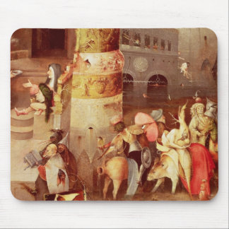 Triptych of the Temptation of St. Anthony Mouse Mat